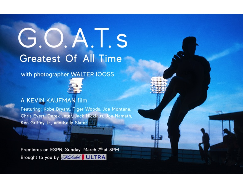 G.O.A.T.s with Photographer Walter Iooss